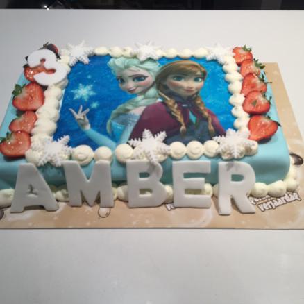 American cake met foto