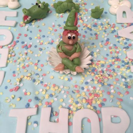 American cake met figuren